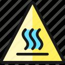 safety, warning, heat