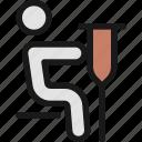 disability, sit, walking, aid