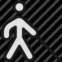disability, walk, blind