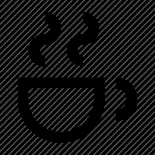 cafe, coffee, cup, hot, kopia, restaurant, wayfind icon