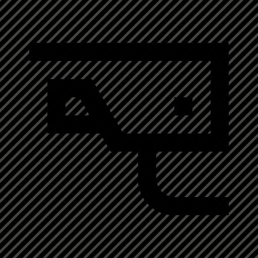 camera, cctv, monitor, wayfind icon