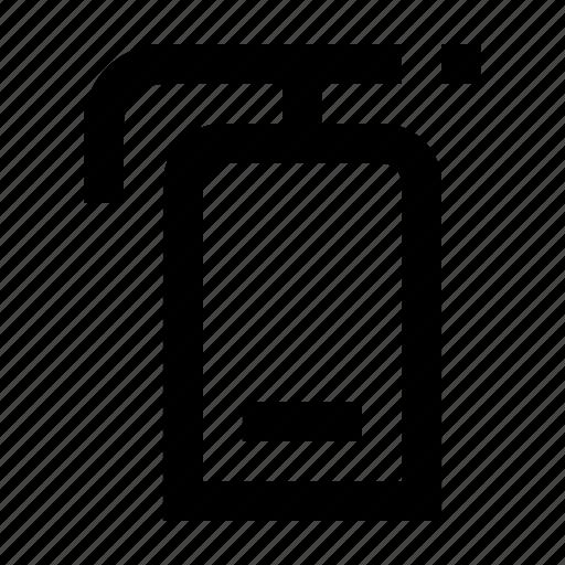 distinguisher, emergency, fire, rescue, wayfind icon