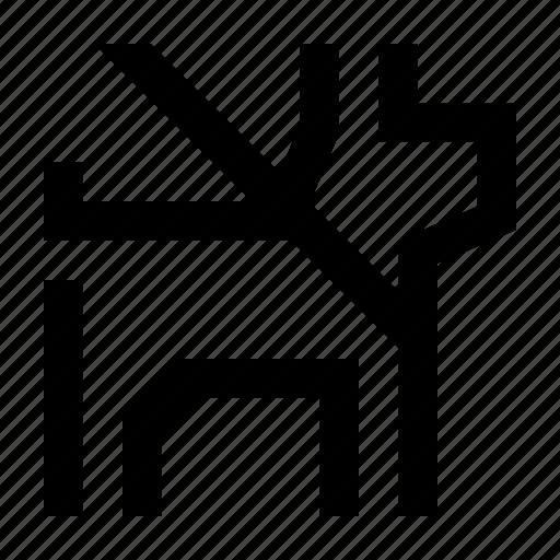animal, collar, dogleash, leash, wayfind icon