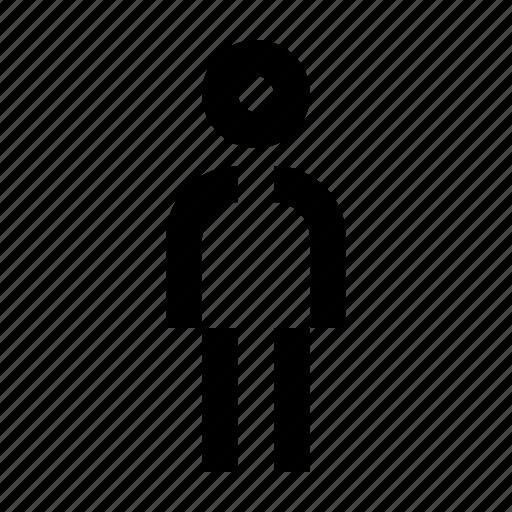gent, man, men, wayfind icon