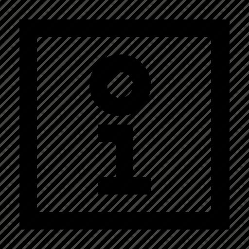 info, information, wayfind icon