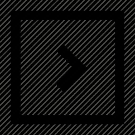 exit, right, way, wayfind icon