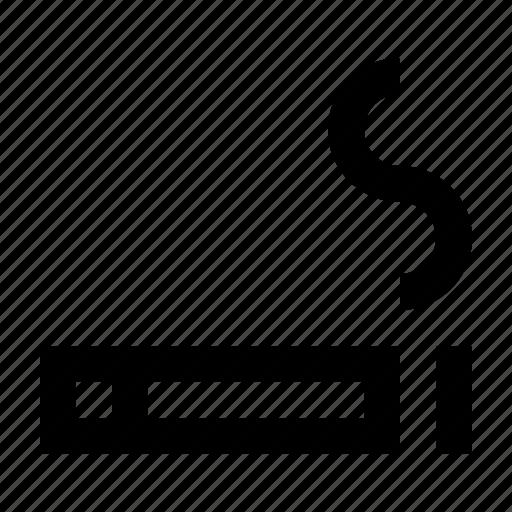 area, cigarette, smoke, smoking, wayfind icon