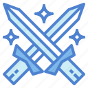 sword, target, war, weapon icon