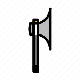 axe, mace, medieval, melee, old, war, weapon icon