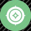 bullet, navigation, sniper, target icon