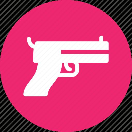 gun, lethal, pistol, weapon icon