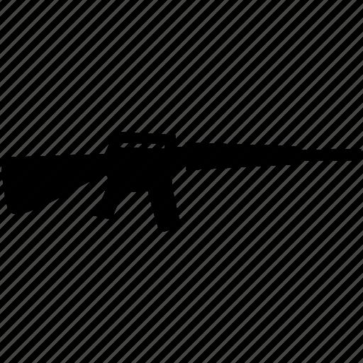 gun, machine icon
