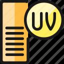 uv, medium