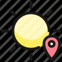 weather, app, sun, location