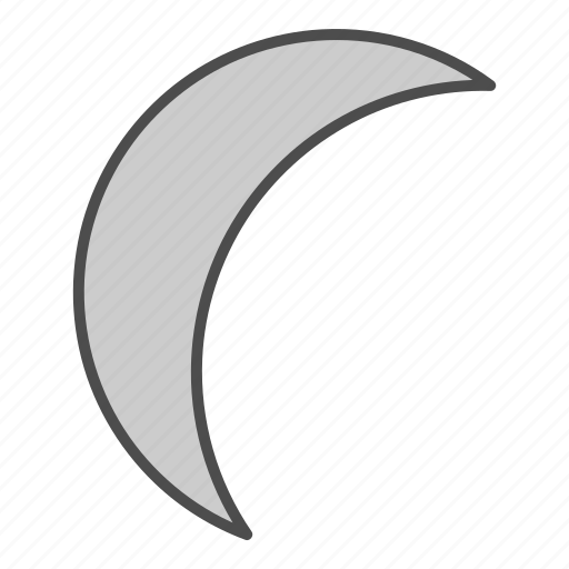 clear, forecast, hovytech, moon, night, planet, weather icon