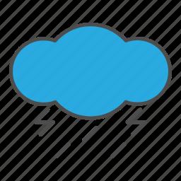 hovytech, light, lightning, rain, storm, thunder, weather icon