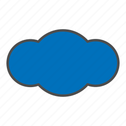cloud, cloudy, hovytech, overcast, rain, storm, weather icon