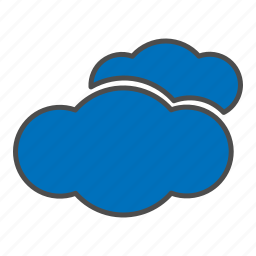 cloud, cloudy, hovytech, rain, storm, water, weather icon