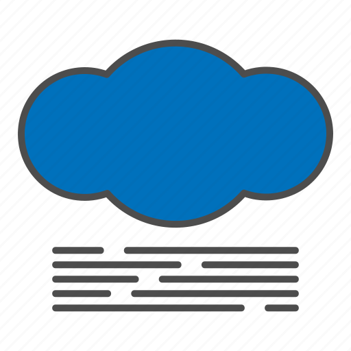 cloud, fog, foggy, hovytech, mist, storm, weather icon