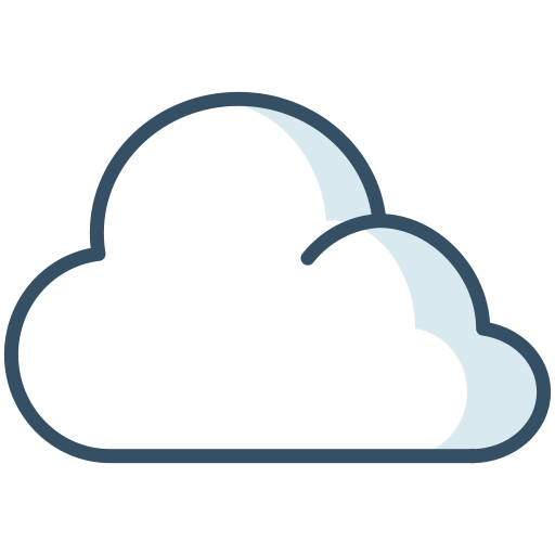 cloud, overcast, weather, winter icon
