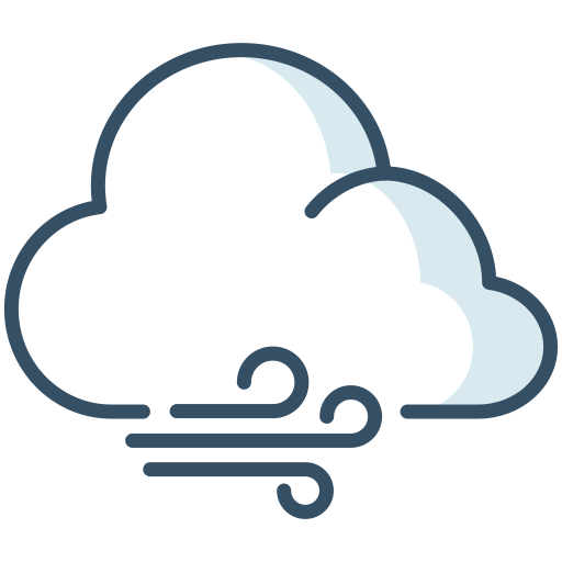 cloud, weather, whiffle, wind icon