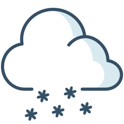 cloud, ice, snow, weather icon
