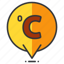 celcius, forecast, temperature, weather icon