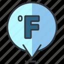 fahrenheit, forecast, heat, temperature, weather