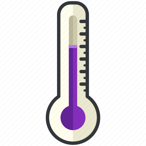 forecast, medium, temperature, thermometer, weather icon