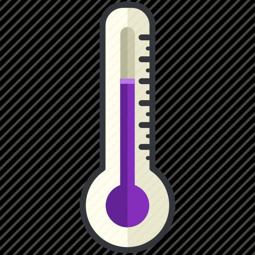 forecast, medium, temperature, thermometer, weather icon