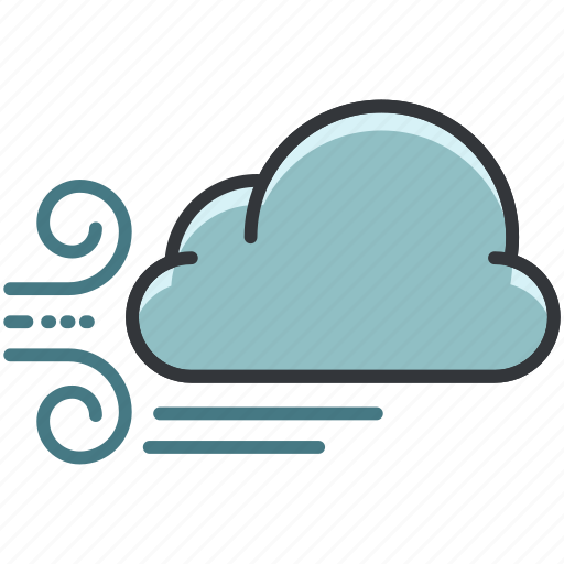 Cloud, clouds, forecast, weather, windy icon - Download on Iconfinder