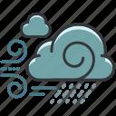 cloud, clouds, forecast, rain, weather, windy