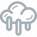 rain, season, weather icon