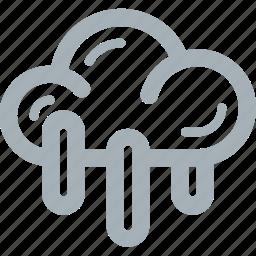 rain, season, weather icon