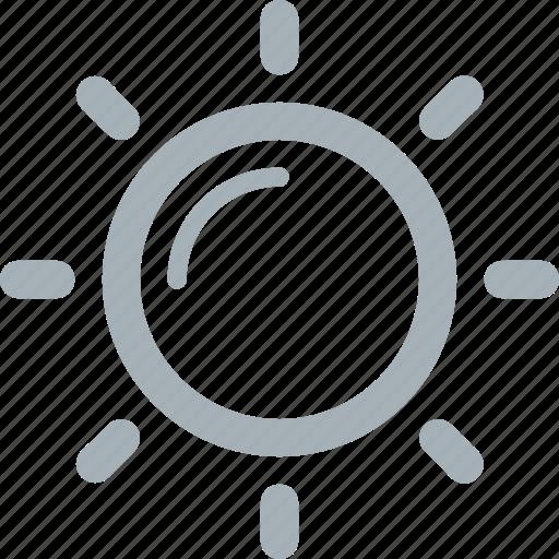 season, summer, weather icon