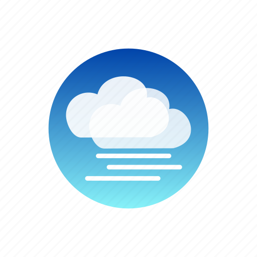 clouds, day, fog, sky, weather icon