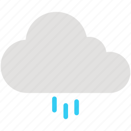 cloud, cloudy, rain, raining, weather icon