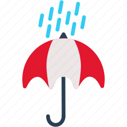 protection, rain, shadow, umbrella, weather icon