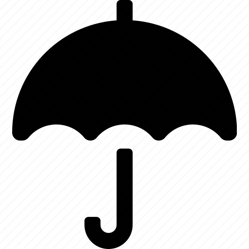 accessory, autumn, fashion, rain, umbrella, weather icon