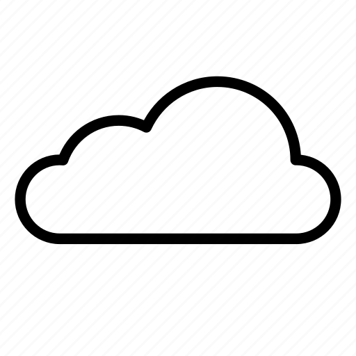 cloud, clouds, cloudy, nature, sky, storm, weather icon