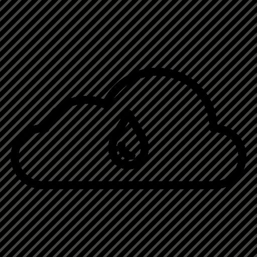 cloud, clouds, moisture, nature, rain, raincloud, weather icon