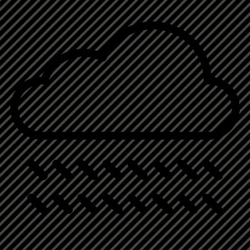 cloud, clouds, nature, rain, raincloud, storm, weather icon