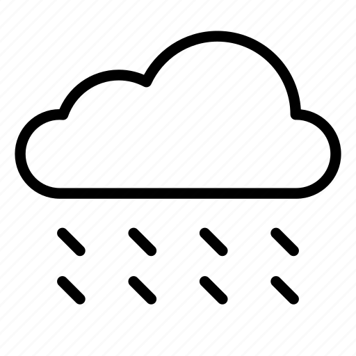 cloud, clouds, nature, rain, storm, weather, windy icon