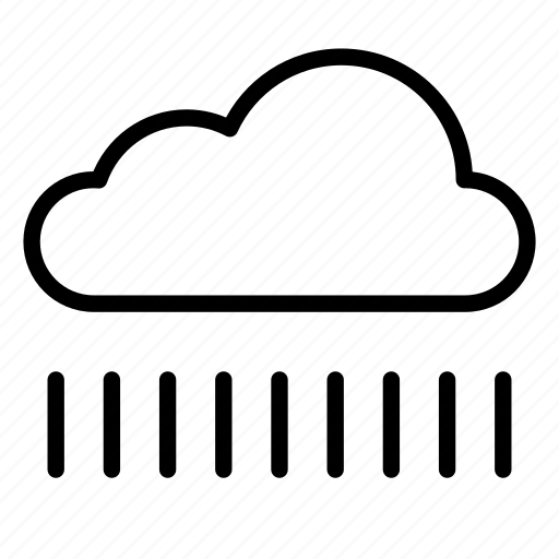 cloud, clouds, nature, precipitation, rain, snow, weather icon