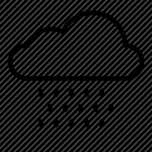 cloud, clouds, nature, rain, raincloud, snow, weather icon