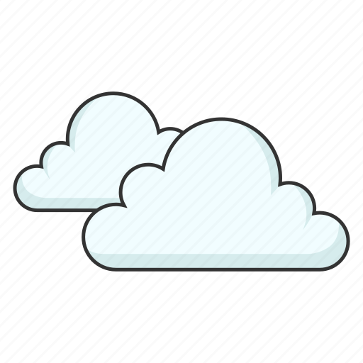 Clouds, cloudy, forecast, overcast, weather icon - Download on Iconfinder