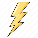 bolt, flash, lightning, storm, thunder, weather icon