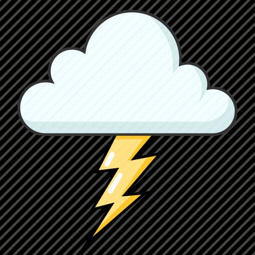 bad weather, flash, lightning, thunder, weather icon