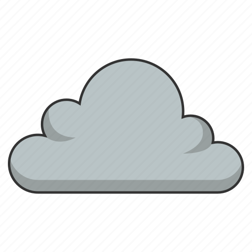 cloudy, dark cloud, storm, storm cloud, weather icon