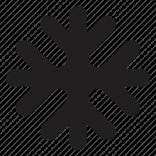 christmas, cold, ice, snow, snowflake, weather, winter icon